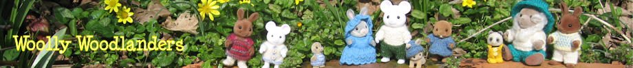 WoollyWoodlanders, home of imaginative knitting patterns for Sylvanian Families
